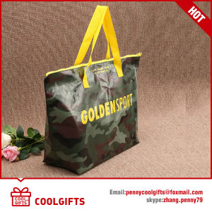 Good Quality Laminated Non Woven Promotional Shopping Bag with Zipper pictures & photos