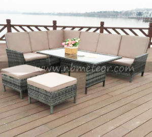 Outdoor Garden Corner Dining Set Rattan Furniture pictures & photos