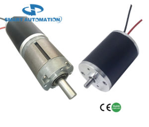 38zyn Sintered NdFeB Magnet Brushed DC Micro Motor, Small Size Big Torque, Planetary Gear Version pictures & photos