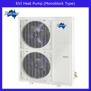 Low Temperature Evi Monoblock Type Heat Pump Work at -25′c pictures & photos