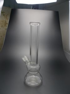 D&K Simple Design Large Glass Water Pipes for Smoking pictures & photos