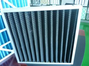 G3, G4 Pleated Activated Carbon Filter, Active Carbon Air Filter for Contamination Gas pictures & photos