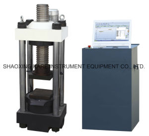Electric Elevating Computerized Servo Compression Testing Machine (YAW-2000D) pictures & photos
