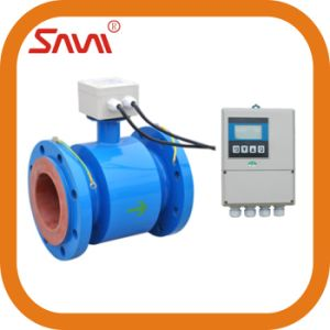 Waste Water Rubber Liner Electromagnetic Flowmeter From China pictures & photos