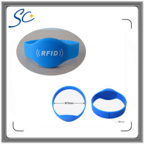 Custom Color Silicone RFID Wristband/Barcelets for Event pictures & photos