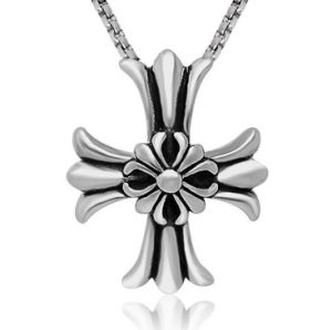 Retro Gothic Cross Necklace Pendant Fashion Jewelry 316L Stainless Steel pictures & photos