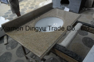 Prefab Vanity Top Undermount Sink Kitchen Tops Bar Top Natural Polished Granite Countertop for Home and Hotel pictures & photos