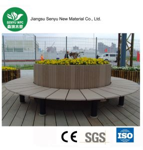 WPC Green Material Durable Outdoor Flower Pot pictures & photos