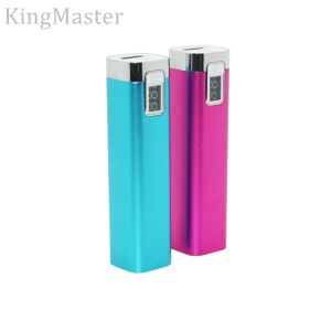 Kingmaster 2200mAh Metal Power Bank Outdoor Emergency Charger for Phone pictures & photos