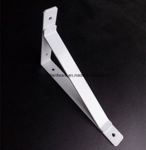 4mm Thickness Spray Black Plastic Metal Bracket for Furniture