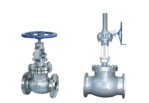 ANSI Standard Wcb Body Material Flanged End Globe Valve