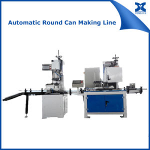 Automatic Round Chemical Tin Can Making Machine pictures & photos