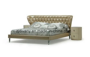 New Classic Style Bedroom King Bed (LS-417) pictures & photos