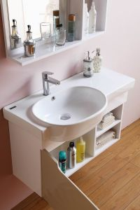 European Style Bathroom Sink Base Cabinets Antique Vanity pictures & photos