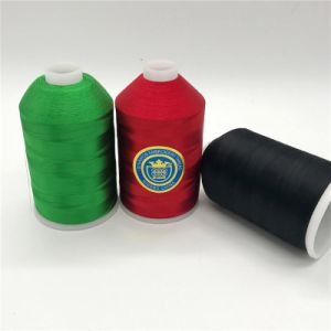 Shanfa Viscose Embroidery Thread pictures & photos