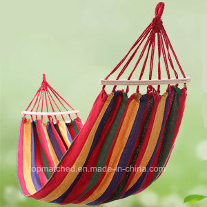 Nice Portable Canvas Hammock for Wholesale pictures & photos