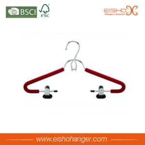 Red Finish Foam Clothes Hanger Covers (E8002) pictures & photos