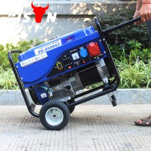 Bison (China) BS6500p (M) 5kw 5kVA Big Fuel Tank Electric Power Supply Low Rpm 5kw 220V Permanent Magnet Generator pictures & photos