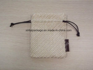 Cotton and Linen Drawstring Gift Bag