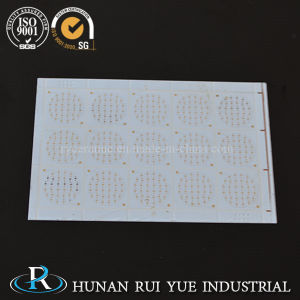 High Thermal Conductivity Alumina Al2O3 Aln Metallized Ceramic Substrates for LED PCB pictures & photos