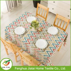 Custom Wholesale Waterproof Pattern Design Home Dining Tablecloth pictures & photos