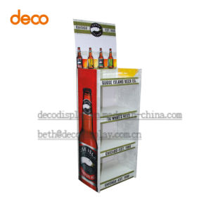 Cardboard Stand Floor Display Stand Paper Display Shelf pictures & photos