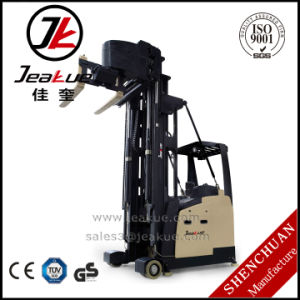Narrow Aisle Three-Way Electric Forklift with Modern Design pictures & photos
