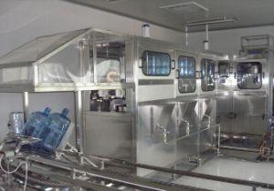 SGS QGF-300 5 Gallon Automatic Barreled Production Line pictures & photos