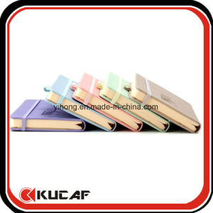 with Elastic Closure Pocket Size Embossed Logo Notebook Stationery Gift pictures & photos