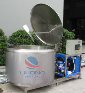 Stainless Steel Milk Chiller with Open Top pictures & photos