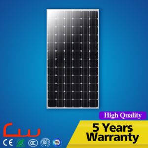 Ce RoHS TUV Wholesale Sunpower Monocrystalline Cell Solar Panel pictures & photos