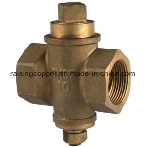 Brass Plug Valve with Square Head pictures & photos