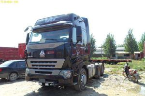 A7 Heavy Duty Tractor Truck with Wabco Air System pictures & photos