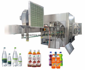2017 New Technology Automatic Orange Juice Drink Filling Bottling Packing Machine for Pet Bottle Can pictures & photos