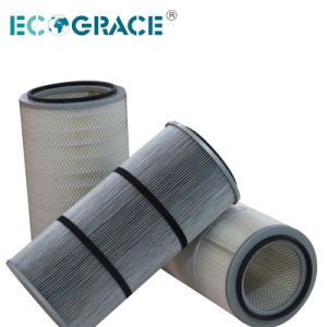 High Temperature Resistance PPS Pleated Filter Cartridge with PTFE Coating pictures & photos