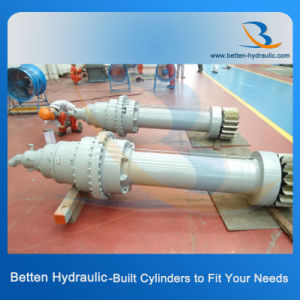 50 Ton Small Hydraulic Cylinder for Construction Vehicles (crane outrigger, truck, dumper) pictures & photos