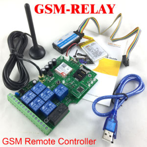 GSM-Relay GSM Remote SMS Relay Controller pictures & photos