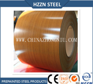Oak Texture Prepainted Galvalume Steel Coil pictures & photos