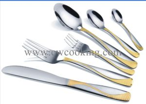 12PCS/24PCS/72PCS/84PCS/86PCS Stainless Steel High Class Flatware Cutlery Tableware (CW-CYD836) pictures & photos