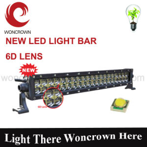 30W 4D 7inch Newest Single Row LED Strip Lights Best Offroad SUV LED Light Bar pictures & photos