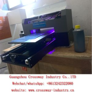 A3 Size UV Flatbed Printing Machine Digital CD DVD PVC ID Card Printer pictures & photos