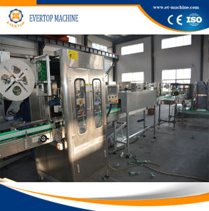 Long Life Automatic Bottle Hot Shrinking Sleeve Labeling Machine pictures & photos