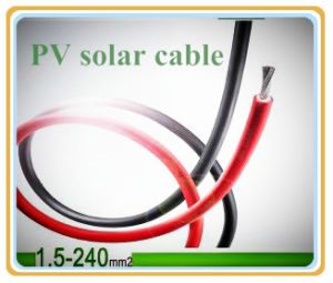 PV1-F Solar PV Solar Cable (1X4.0mm2) pictures & photos