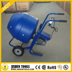 Small Electric Concrete Mixer with Handle