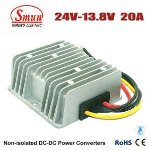Waterproof 24VDC to 13.8VDC 20A 276W DC DC Buck Converter pictures & photos