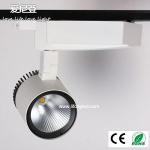 Commercial Lighting Clothing Store 30W COB LED Track Light pictures & photos