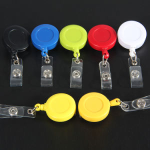 Free Design DIY Retractable Badge Holder Pull Reel pictures & photos
