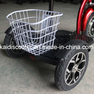 500W Foldable Three Wheels Electric Mobility Scooter E Scooter pictures & photos