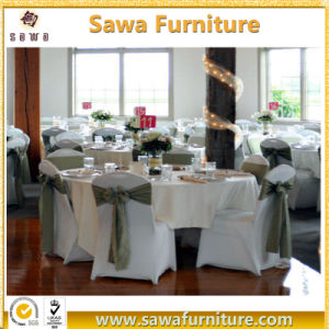 Wedding Supplies Wholesale Black Color Cheap Spandex Chair Cover pictures & photos