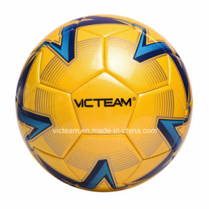 Standard Size Weight Laminated Race Soccer Ball pictures & photos